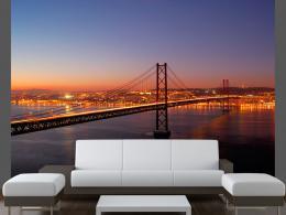 Murando DeLuxe Fototapeta Bay Bridge San Francisco