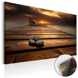 Murando DeLuxe Obraz na akrylátovém skle Západ slunce