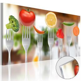 Murando DeLuxe Obraz do kuchynì akrylátové sklo  - zvìtšit obrázek
