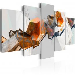 Murando DeLuxe Abstraktní obraz - bloky