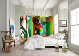 Murando DeLuxe Paraván barevný prostor