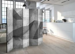 Murando DeLuxe Paraván betonová geometrie