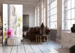 Murando DeLuxe Paraván Buddha a orchidej