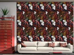 Murando DeLuxe Exotické noèní kvìty Klasické tapety  49x1000 cm - samolepicí