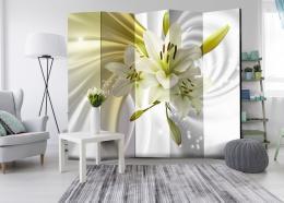 Murando DeLuxe Paraván zelená lilie Velikost  225x172 cm