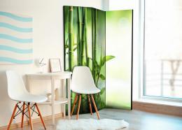 Murando DeLuxe Paraván zelený bambus Velikost  135x172 cm