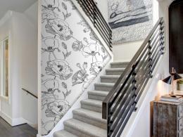 Murando DeLuxe Jemné máky Klasické tapety  49x1000 cm - samolepicí