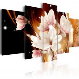 Murando DeLuxe Pìtidílné obrazy - magnolie  - zvìtšit obrázek