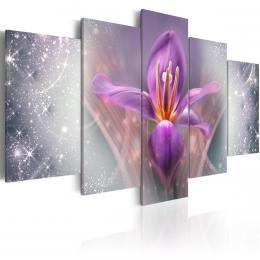 Murando DeLuxe Pìtidílné obrazy - fialové snìní Velikost (šíøka x výška)  200x100 cm