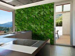 Murando DeLuxe Zelené brány Klasické tapety  49x1000 cm - samolepicí