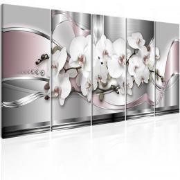 Murando DeLuxe Vícedílné obrazy - orchidejová silnice