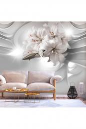 Murando DeLuxe 3D tapeta elegantní lilie