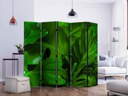 Murando DeLuxe Paraván zelené listí Velikost  225x172 cm