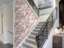 Murando DeLuxe Korálové palmy Klasické tapety  49x1000 cm - samolepicí