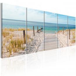 Murando DeLuxe Vícedílný obraz - pláž