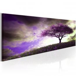Murando DeLuxe Obraz fialový strom
