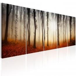 Murando DeLuxe Vícedílný obraz - ranní mlha