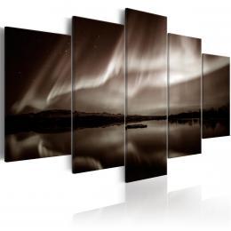 Murando DeLuxe Pìtidílný obraz - svìtlo z nebe