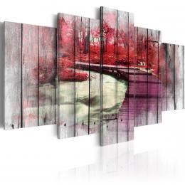 Murando DeLuxe Èervený podzim Velikost  200x100 cm