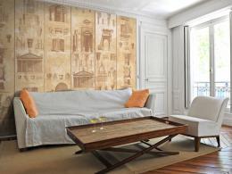Murando DeLuxe Perly architektury Klasické tapety  49x1000 cm - samolepicí