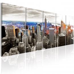 Murando DeLuxe Vícedílný obraz - New York Velikost  125x50 cm