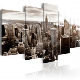 Murando DeLuxe Vícedílný obraz - stylový Manhattan