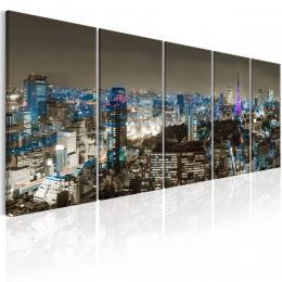 Murando DeLuxe Vícedílný obraz - Tokio
