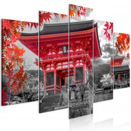 Murando DeLuxe Vícedílný obraz - Japonsko