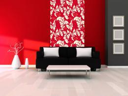 Murando DeLuxe Karmínový podzim Klasické tapety  49x1000 cm - samolepicí