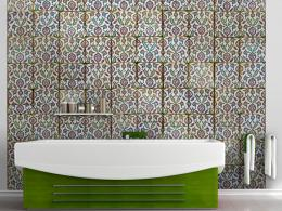 Murando DeLuxe Tanec barev Klasické tapety  50x1000 cm - vliesové