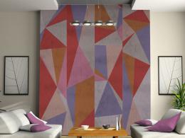 Murando DeLuxe Trojúhelníky Klasické tapety  49x1000 cm - samolepicí