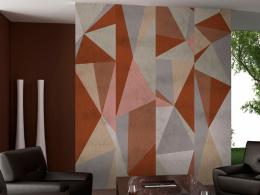 Murando DeLuxe Trojúhelníková kompozice Klasické tapety  49x1000 cm - samolepicí