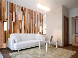 Murando DeLuxe Hnìdý relax Klasické tapety  49x1000 cm - samolepicí