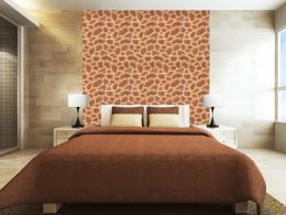 Murando DeLuxe Žirafí motiv Klasické tapety  49x1000 cm - samolepicí