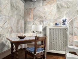 Murando DeLuxe Mramorová skládanka Klasické tapety  49x1000 cm - samolepicí
