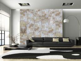 Murando DeLuxe Rezavý stín Klasické tapety  49x1000 cm - samolepicí