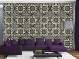 Murando DeLuxe Zelená mozaika Klasické tapety  49x1000 cm - samolepicí