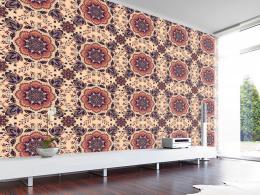 Murando DeLuxe Kvìtinové pole Klasické tapety  49x1000 cm - samolepicí
