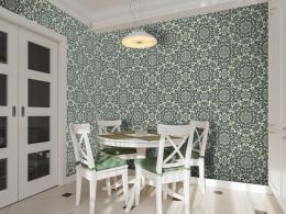 Murando DeLuxe Zelený tanec Klasické tapety  49x1000 cm - samolepicí