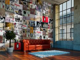 Murando DeLuxe Banksy - kolaž Klasické tapety  49x1000 cm - samolepicí