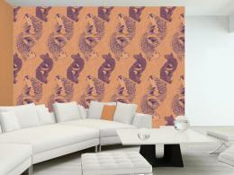 Murando DeLuxe Rybí láska Klasické tapety  49x1000 cm - samolepicí