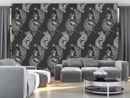 Murando DeLuxe Rybí tanec Klasické tapety  49x1000 cm - samolepicí