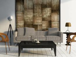 Murando DeLuxe Mosazná mozaika Klasické tapety  49x1000 cm - samolepicí