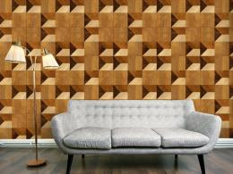Murando DeLuxe Bloky v barvì medu Klasické tapety  49x1000 cm - samolepicí