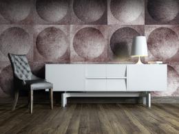 Murando DeLuxe Geometrická pochoutka Klasické tapety  49x1000 cm - samolepicí