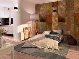 Murando DeLuxe Zlatý fanoušek Klasické tapety  49x1000 cm - samolepicí