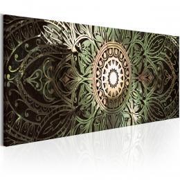 Murando DeLuxe Zelená mandala Velikost  90x30 cm