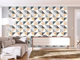 Murando DeLuxe Trojúhelníková aliance Klasické tapety  49x1000 cm - samolepicí