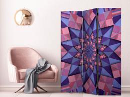 Murando DeLuxe Paraván hvìzdná mandala - rùžová fialová