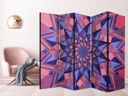 Murando DeLuxe Paraván hvìzdná mandala II - rùžová fialová